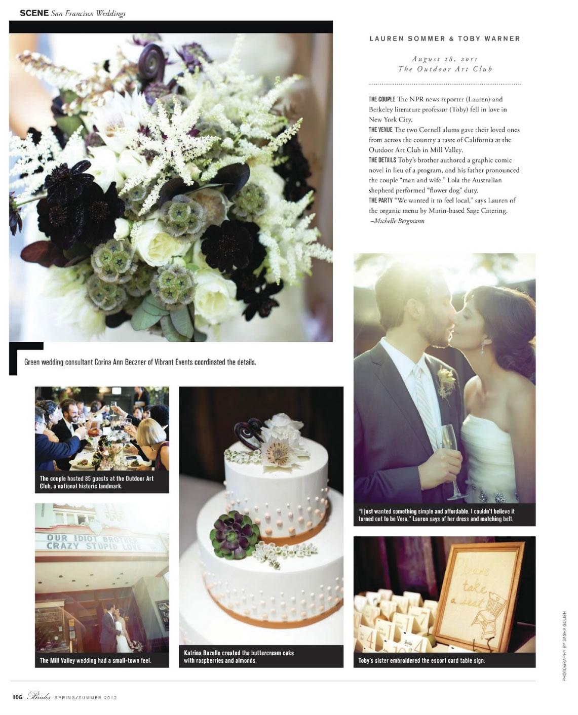 Lauren & Toby - Brides Magazine