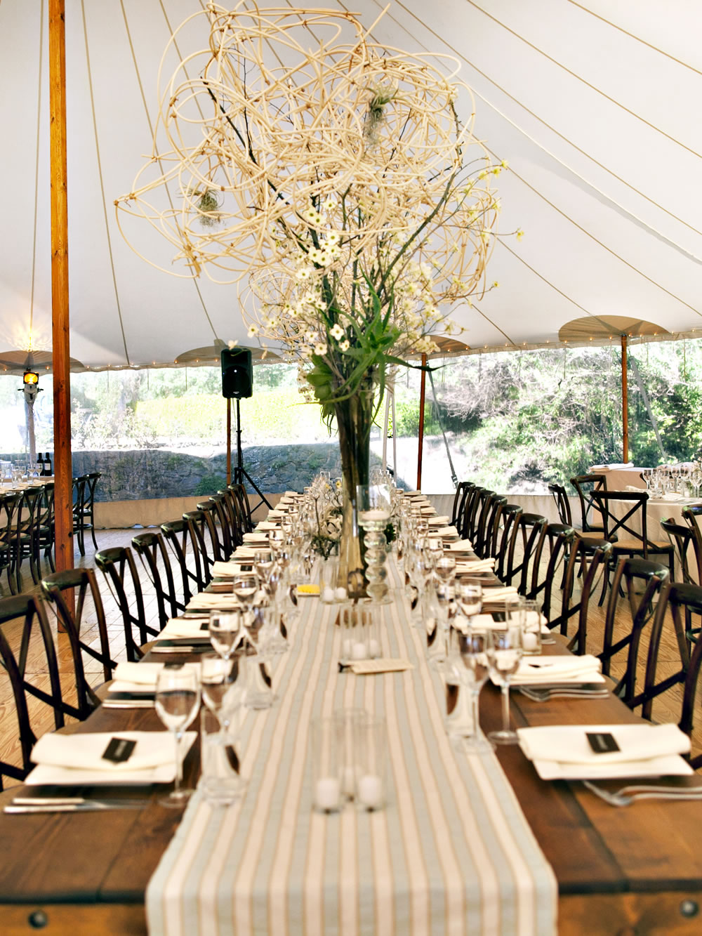 Annadel Estate Winery Weddings Table