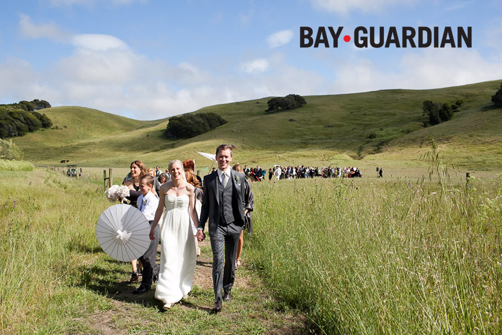Featured Bay Guardian Green Wedding