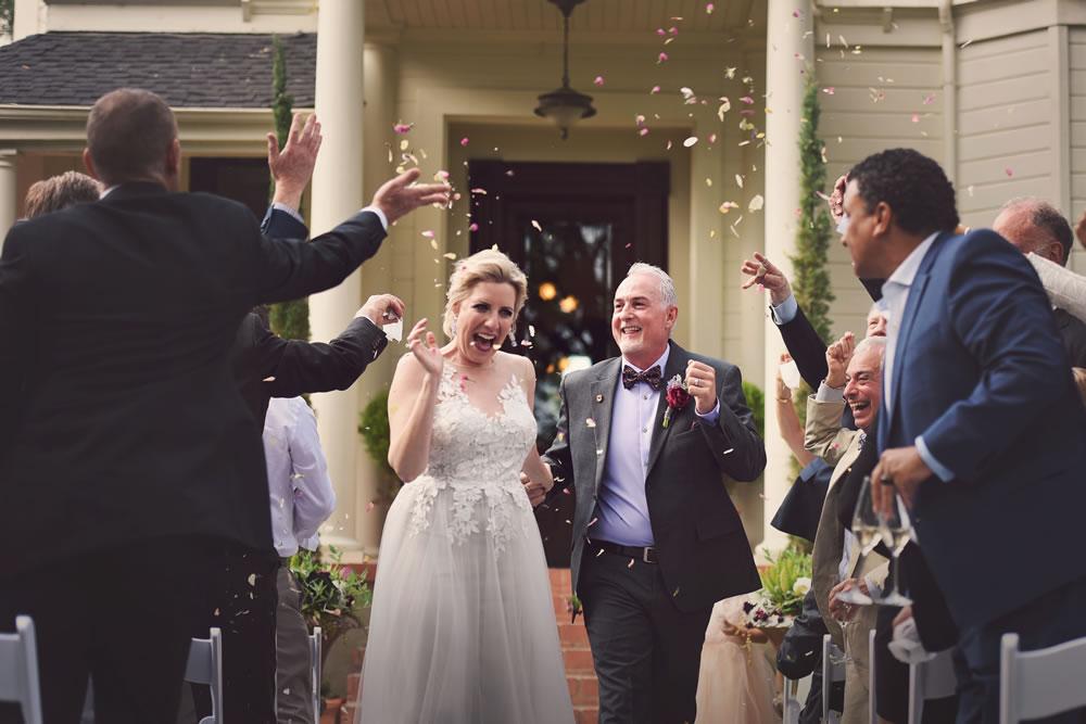 Park Winters Spring Wedding