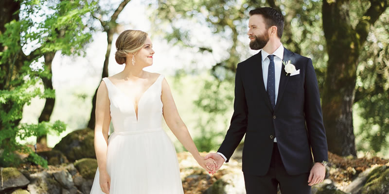 Wine Country Wedding in Sonona, California