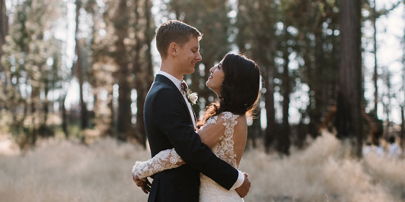 Forest Wedding in Yosemite, California