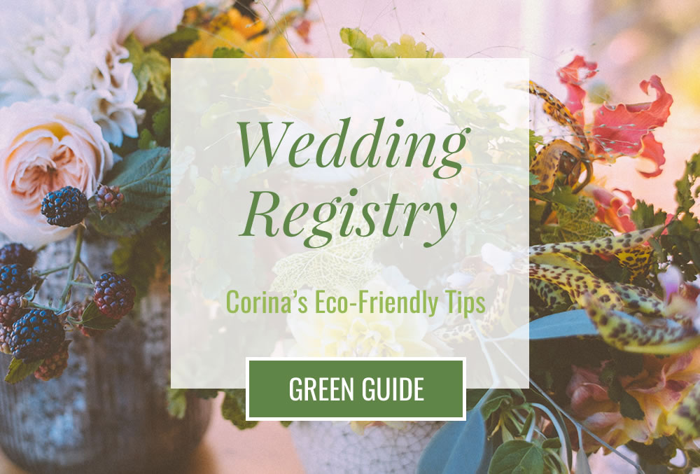 Wedding Registry Green Guide