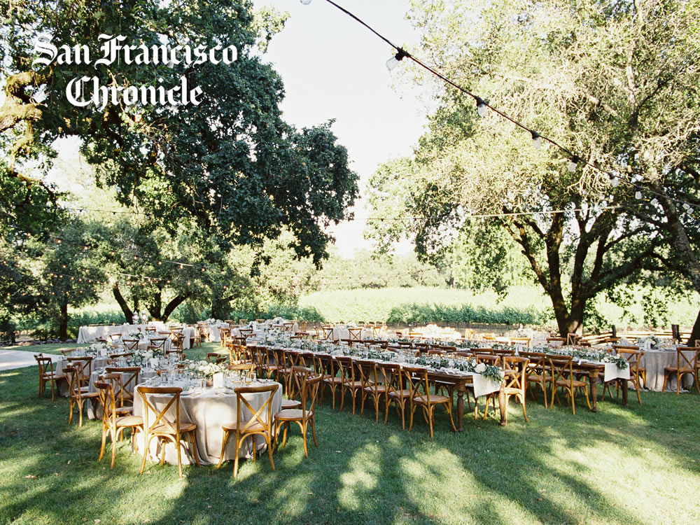 Perfect Wine Country Wedding